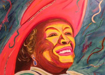 Maya Angelou 2016 - SOLD