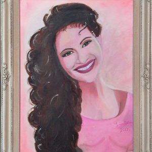 Selena portrait 2010 For Sale