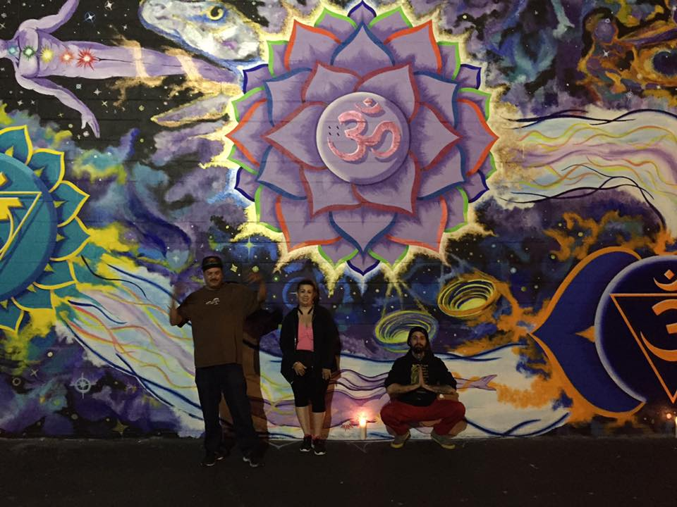 Transcendence mural Sacramento CA