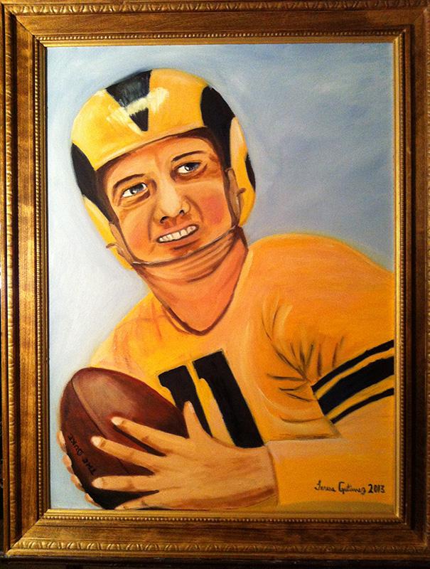 Rams portrait - SOLD