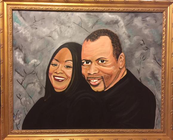 Alex Sharon portrait 2016 commission