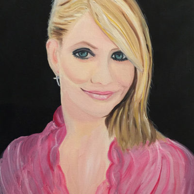 Cameron Diaz portrait For Sale