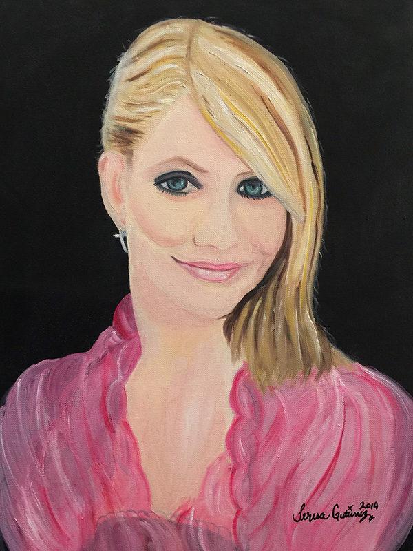 Cameron Diaz portrait For Sale