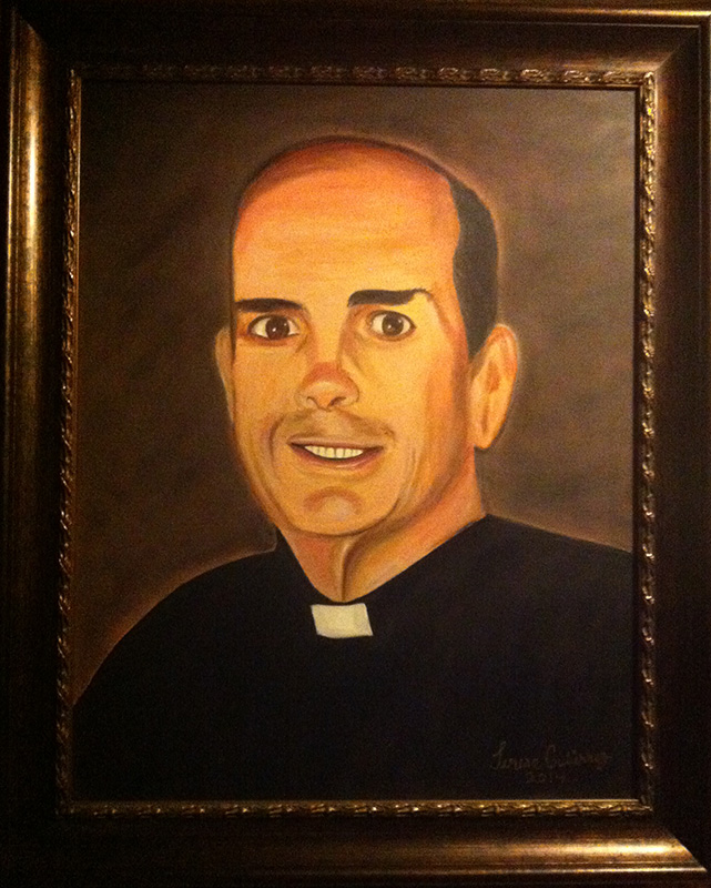 Friar Steven portrait - SOLD