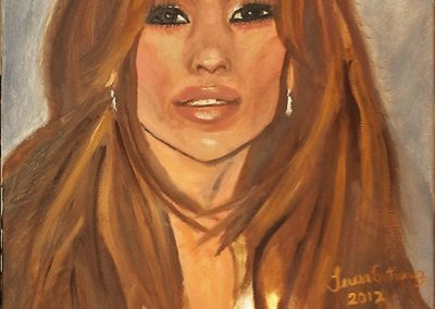 J-Lo portrait 2012 For Sale