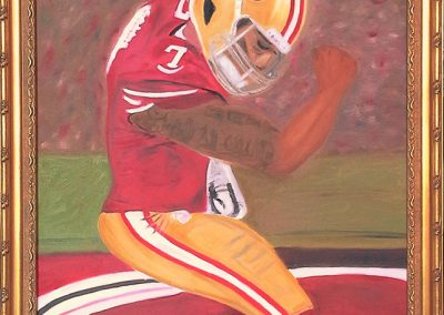 Kaepernick portrait 2013 - For Sale