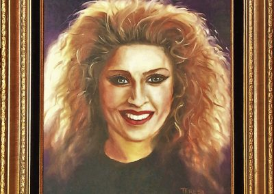 Madonna portrait 1987 - SOLD