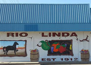 Rio Linda California mural
