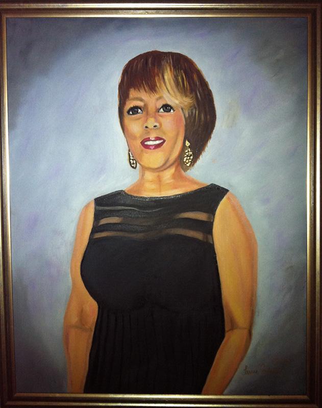 Rosalin portrait 2014 commission