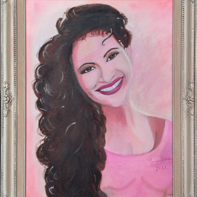 Selena portrait 2010 For Sale